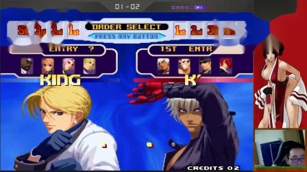 小斌解说:《拳皇2000锦标赛》madkof81 vs 小黑
