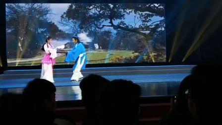 黄梅戏牛郎织女选段《路遇》表演者王刚  潘柠静  涂小勇