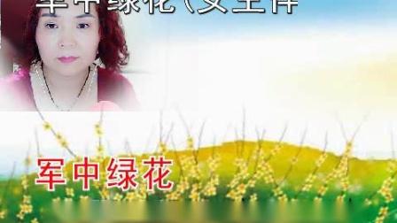 歌曲【军中绿花】念念学唱
