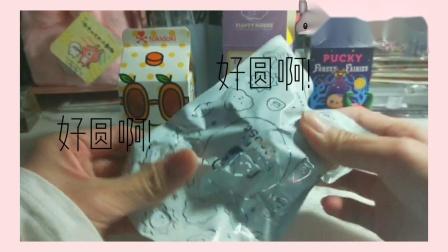拆盲盒tokidoki早餐系列,云朵家族,毕奇pucky♡