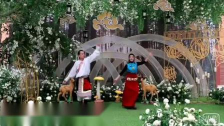 兰州高原雪莲锅庄队:学跳新舞视频《一》
