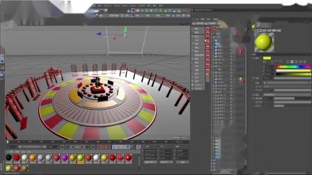 猪年广场拜年视频模板20181116(redshift渲染说明)