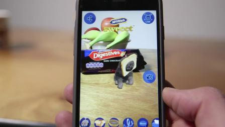 Miaow! McVitie's launches the augmented reality iK