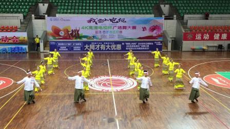 普洱市傣乐思健身舞队《缅桂花开》编舞赵敏,编排赵敏、陈昤、江宏。