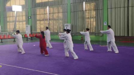大名县集体太极拳(2018年邯郸市第十一届太极拳比赛)