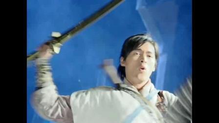 李逍遥和唐钰小宝的这段打斗戏太精彩了,这才是胡歌和彭于晏的颜值巅峰