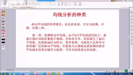 第五章 - 均线课程(1)