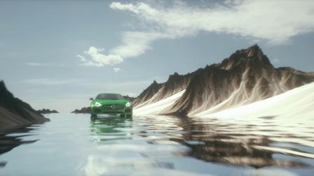 C4D动态毕设Mercedes-Benz(GT)