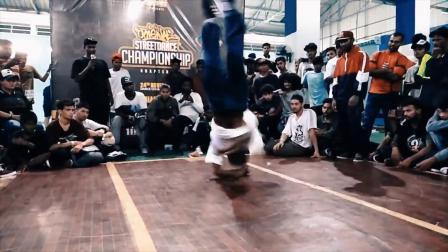 Original Street Dance Championship 2018 _ Chennai _ BBoy Grace Judge Showcase