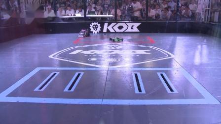 KOB铁甲格斗北京站初赛17 青铜猛犸象VS晶尘炼金师