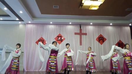 温江大庆教会圣诞节庆祝合集