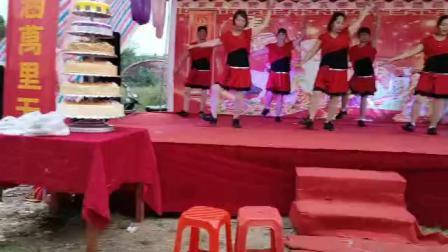 吴川市塘缀镇龙安舞蹈队(又见山里红)百岁祝寿二O一八年十一月初二