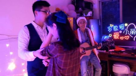 """""""罗教授&小丽子""""求婚--夜空中最亮的星"""