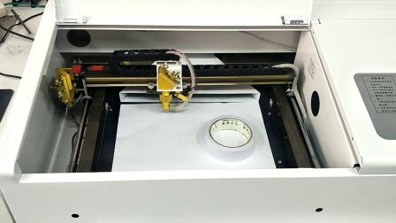 小型激光切割机光路调节视频1