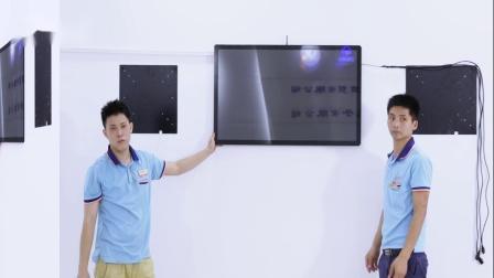 壁挂广告机,一体机安装步骤