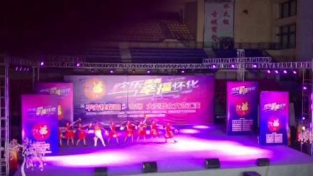 怀化洪江区楠木田舞蹈队红红的中国
