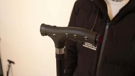 拐杖杖脚更换+手电电池安装