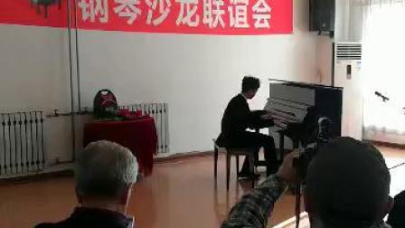 为钢琴沙龙即兴演奏