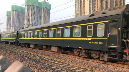 HXD1D0508牵引K507 海棠寺站接近
