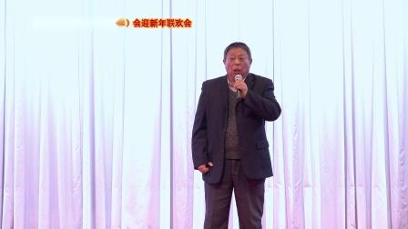 配乐诗朗诵《今夜星光灿烂》表演张岩(原南京市老干部艺术团团长)
