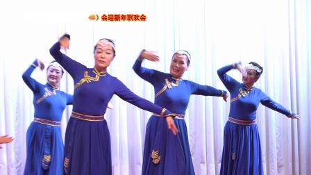 蒙古舞《 天 边 》表演 南京市老干部艺术团舞蹈队