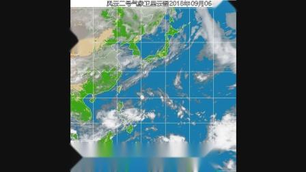 2018年西北太平洋台风监测