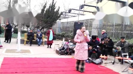曲剧(那一日)演唱玲玲主弦齐庄元旦上传刘玲地址五一公园