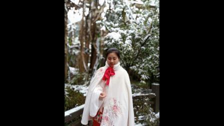 青城后山美丽雪景