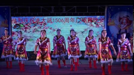 热烈祝贺冼太诞1506周年广场舞晚会--锡塘舞蹈队(洗衣歌)