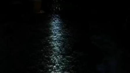 下雪天的卫途Weltool W3没羽箭LEP白激光超远射无泛光强光手电筒
