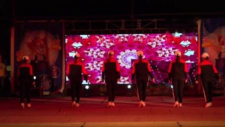 热烈祝贺冼太诞1506周年广场舞晚会--白土舞蹈队(快乐蹦迪)