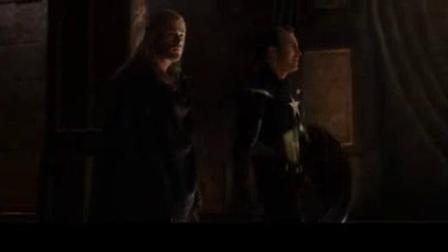 我在雷神2:黑暗世界截了一段小视频