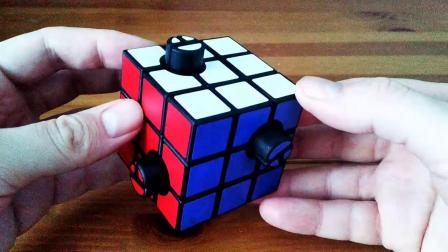 Button Cube by Tim Selkirk (DLP 3D-Printing)