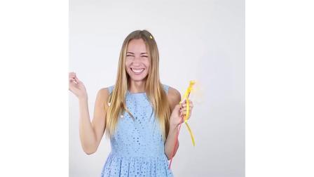 16招教你气球吸管怎么变魔术