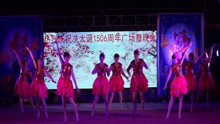 热烈祝贺冼太诞1506周年广场舞晚会--南塘黎屋舞蹈队(掌声在哪里)