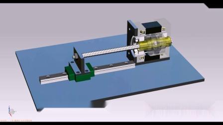 山社贯通轴式直线丝杆步进电机运行原理