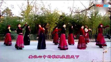 紫竹院广场舞【雪山阿佳】