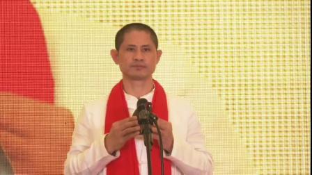 乐道五音堂埙乐禅舞行,贺广州郴州商会第二届年会,事业兴旺发达