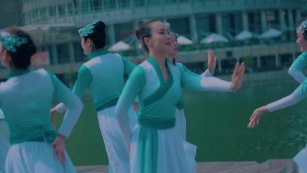 单色舞蹈中国舞唯美展示 武汉舞蹈培训