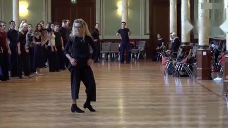 2015 Edita Daniute 艾迪塔 丹纽特《狐步舞集训课》德国讲习第1集共4集