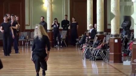 2015 Edita Daniute 艾迪塔 丹纽特《狐步舞集训课》德国讲习第2集共4集