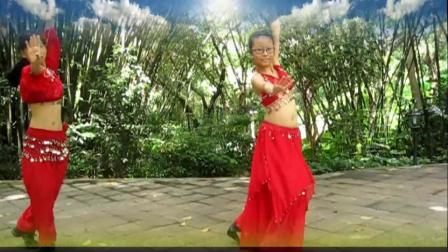 广州雨滴广场舞  肚皮舞   月亮女神