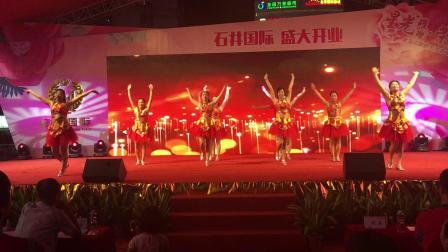 广州雨滴广场舞队  大时代