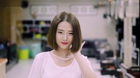 长发妹子头顶尖, 一狠心剪成瘦脸短发, 立马年轻到18岁_超清