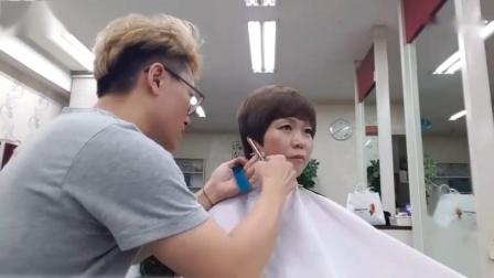 大妈剪完了这个发型, 回到了20年前_高清
