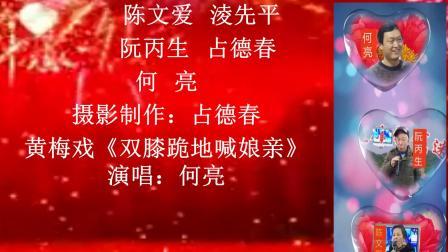 黄梅戏·《双膝跪地喊娘亲》演唱何亮 怀宁县江镇镇联山村2019元旦文艺汇演