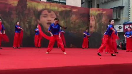 """馨雅舞蹈队表演""""九儿"""" 2019.1.16.(编制:WU大福)"""