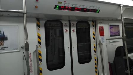 广州地铁13号线 裕丰围-双岗 运行与报站