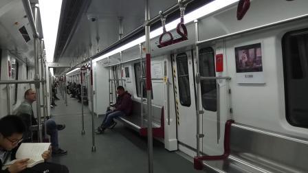 广州地铁13号线 双岗-南海神庙 运行与报站