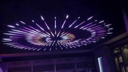 MADRIX输出DVI方式控制LED全彩灯带效果